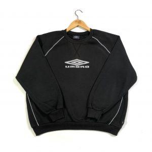 vintage_umbro_oversized_spell_out_black_sweatshirt