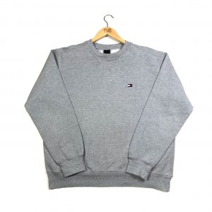 vintage_tommy_hilfiger_essential_logo_grey_sweatshirt