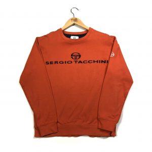 vintage_sergio_tacchini_orange_embroidered_spell_out_sweatshirt
