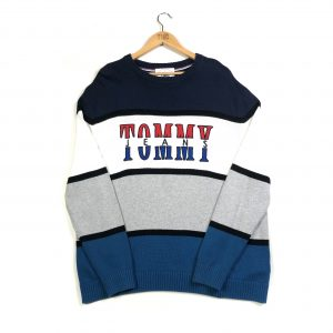 tmc_vintage_tommy_hilfiger_blue_knit_jumper