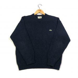 vintage_lacoste_essential_navy_knit_jumper