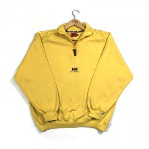 vintage_helly_hansen_yellow_quarter_zip_sweatshirt