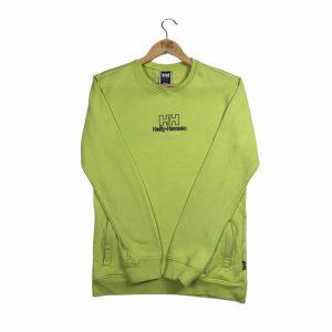 vintage_helly_hansen_embroidered_lime_green_sweatshirt