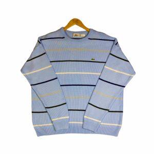 vintage_lacoste_blue_essential_striped_knit_jumper