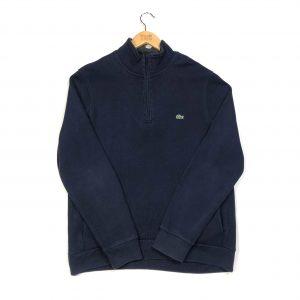 vintage_lacoste_essential_navy_quarter_zip_sweatshirt