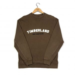 vintage_timberland_embroidered_brown_sweatshirt