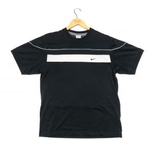 vintage nike swoosh black t-shirt