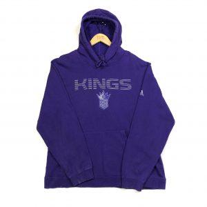 vintage adidas nba sacramento kings purple hoodie