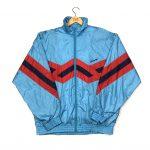 vintage 90s adidas originals track jacket in blue