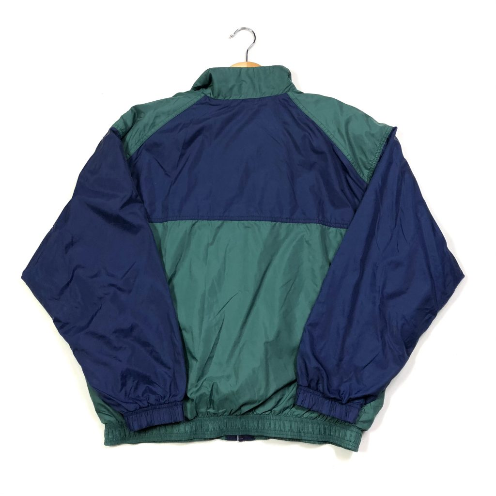 vintage 90s nike track jacket in green