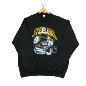 1995 nfl pittsburgh steelers graphic vintage sweatshirt