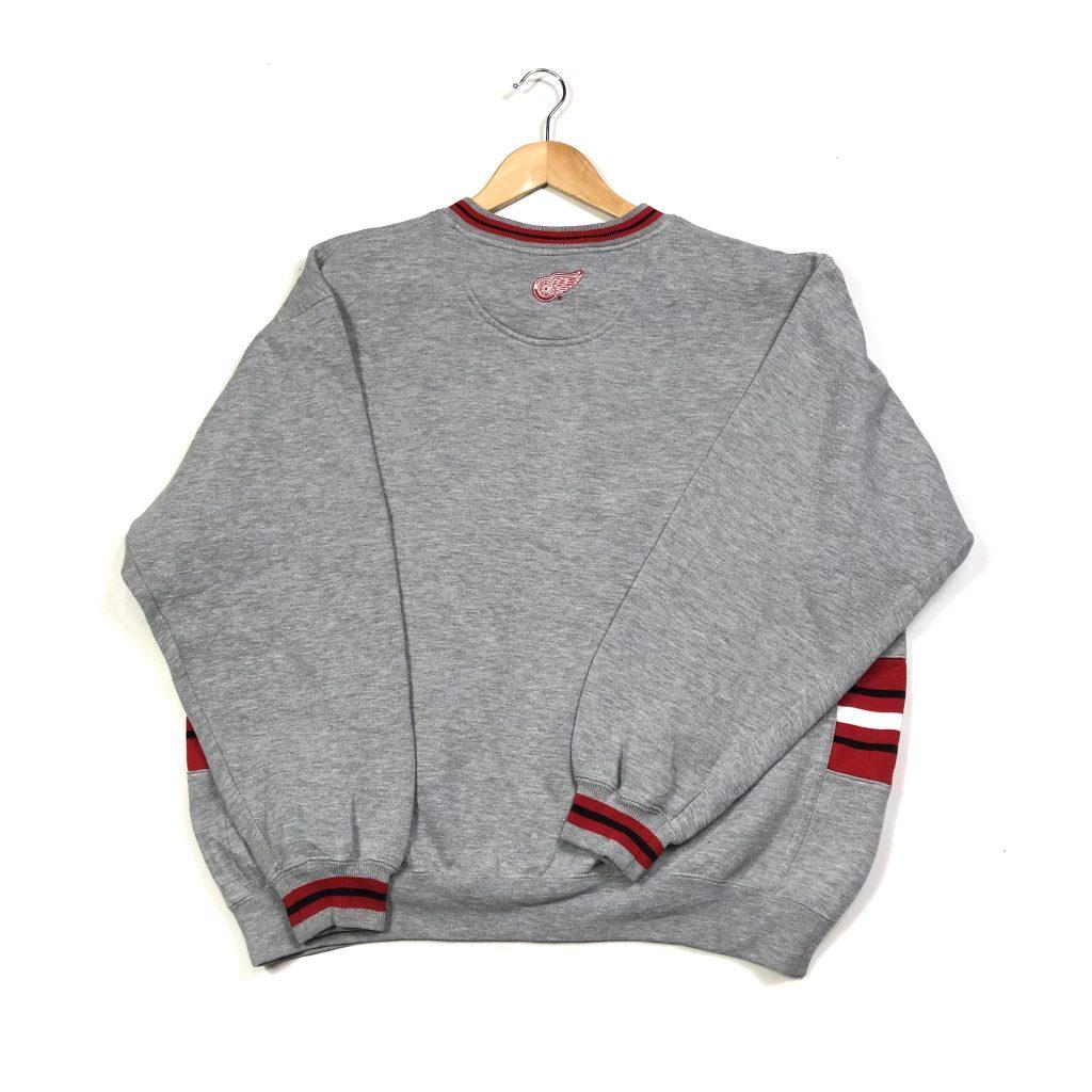 vintage detroit red wings nhl sweatshirt