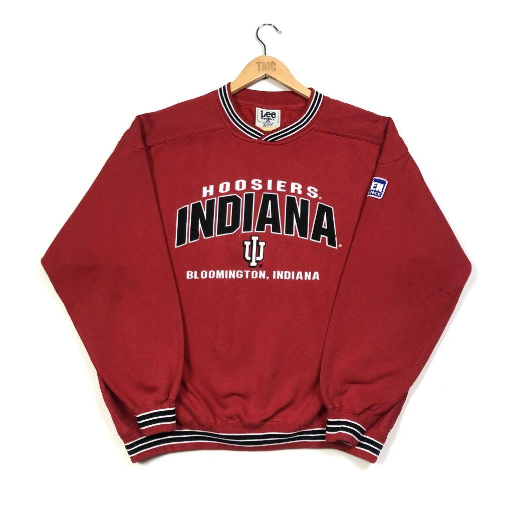 nba indiana hoosiers embroidered american sweatshirt