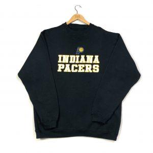 vintage nab indiana pacers embroidered american basketball sweatshirt
