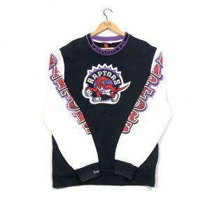 vintage usa nba toronto raptors embroidered american sweatshirt