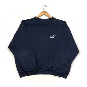 vintage puma essential boxy sweatshirt