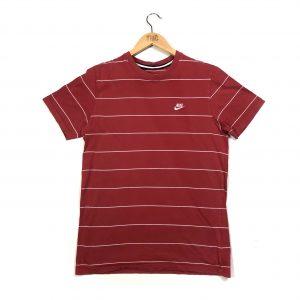 vintage clothing nike striped red t-shirt