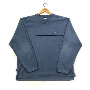 vintage umbro essential blue fleece sweatshirt