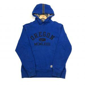 vintage nike usa oregon printed blue hoodie