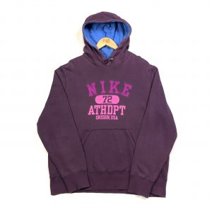 vintage nike usa spell out purple hoodie