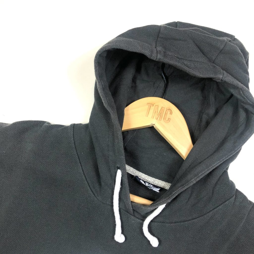 vintage clothing umbro printed big logo black hoodie