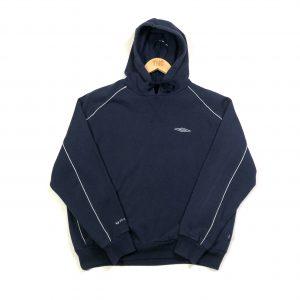 vintage clothing umbro oversized navy hoodie
