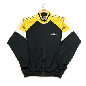 vintage 90s adidas originals black track jacket