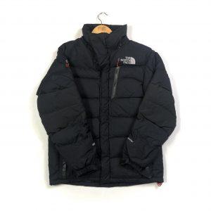 vintage north face 800 summit series black puffer jacket