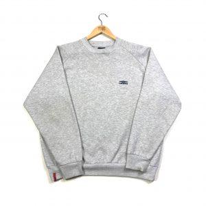 vintage umbro essential logo grey sweatshirt