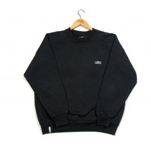 vintage umbro essential black sweatshirt
