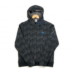 vintage clothing nike air monogram print grey hoodie