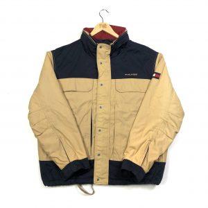 vintage clothing tommy hilfiger beige coat jacket