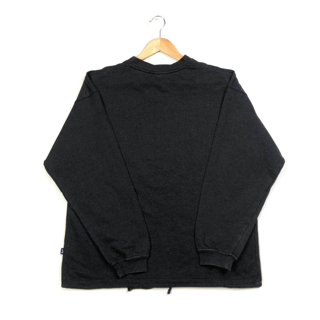 vintage clothing reebok essential logo black sweatshirt