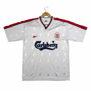 vintage 90s reebok liverpool fc football shirt