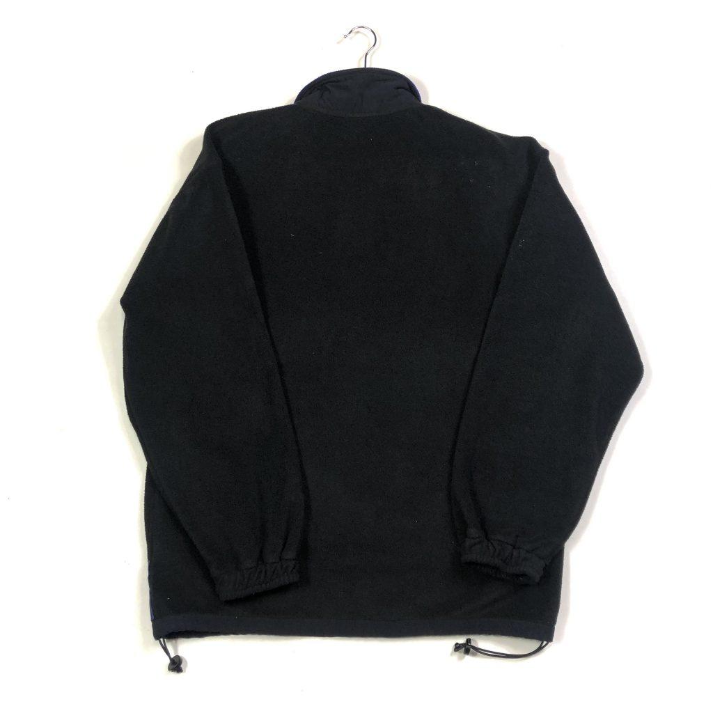 vintage clothing puma black quarter-zip fleece