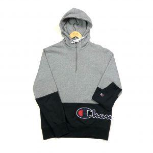 vintage clothing champion quarter-zip grey hoodie