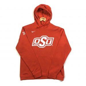 vintage nike usa ohio state orange american hoodie