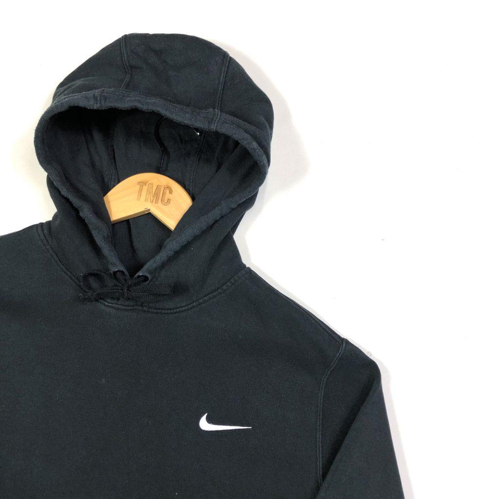 vintage clothing nike black swoosh logo hoodie