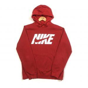 vintage clothing nike big logo red hoodie