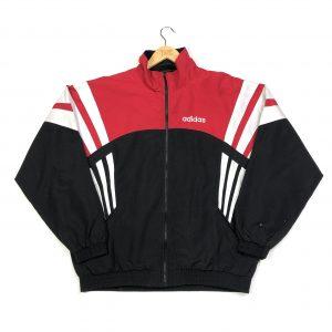 vintage clothing adidas 3 stripes black track jacket