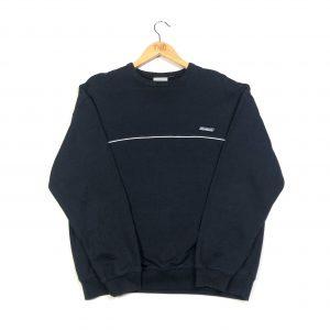 vintage clothing reebok essential logo navy sweatshirt