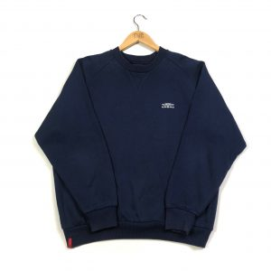 vintage clothing umbro embroidered logo navy sweatshirt