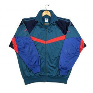 vintage clothing adidas 90s zip up trefoil logo green track jacket